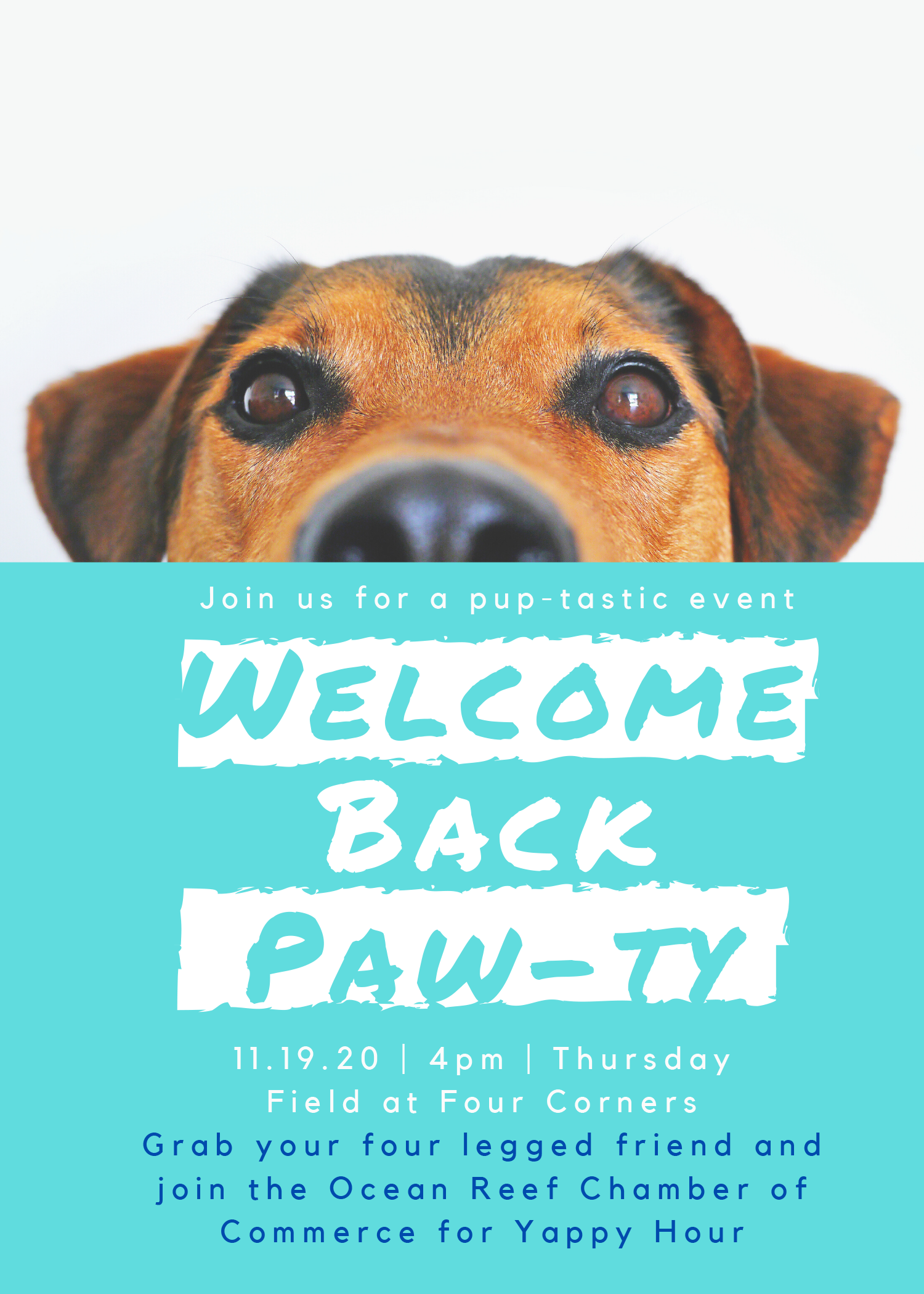 2020 Welcome Back Paw-ty