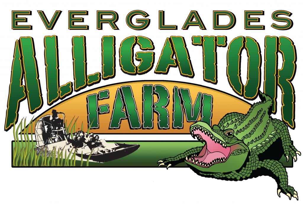 Everglade Alligator Farm Logo